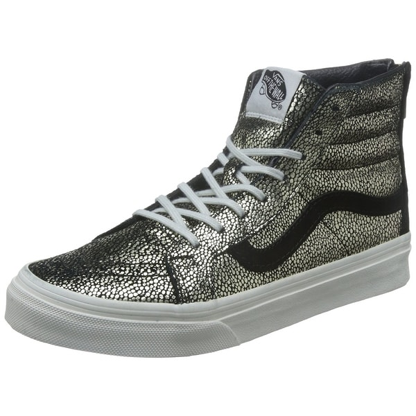 e4423abac10 Shop Vans Womens SK8-Hi Slim Low Top Zipper Fashion Sneakers ...