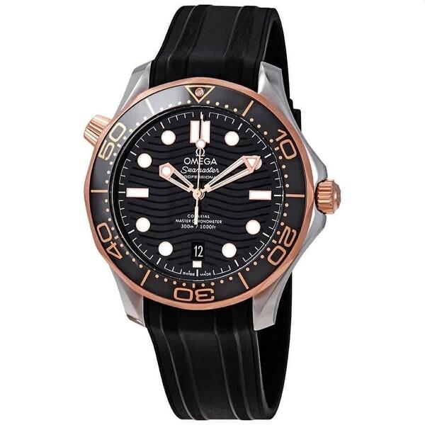 Omega Men's 210.22.42.20.01.002 'Seamaster' Black Rubber Watch. Opens flyout.