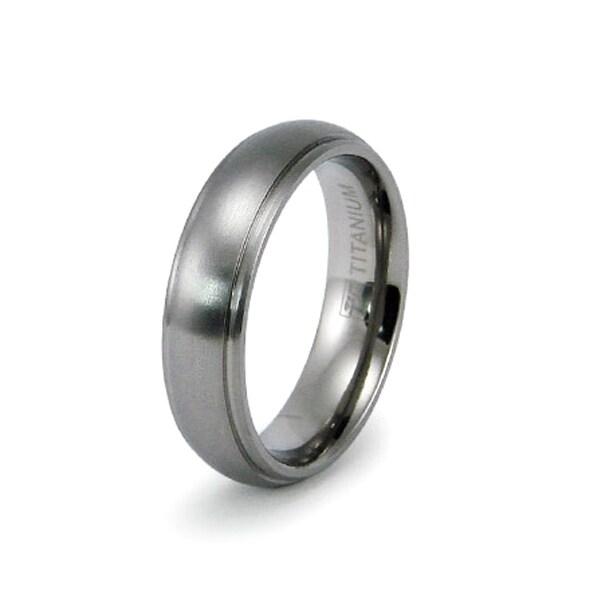 6mm Titanium Ring (Sizes 8-12)