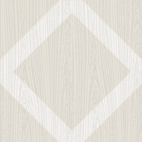 "Brewster FP2476 Illusion 12"" x 12"" Square Geometric Self-Adhesive Vinyl Peel and Stick Floor Tiles"