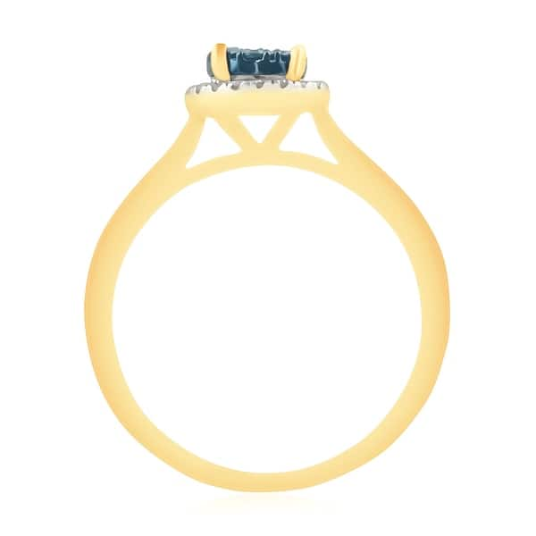 Prism Jewel 1.00MM 0.08CT G-H//I1 Natural Diamond Light Weight Fancy Ring