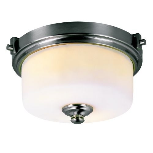 Trans Globe Lighting 7923 Two Light Semi Flush Ceiling Fixture from the Young and Hip Collection