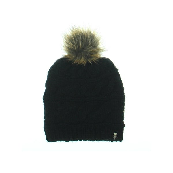 886e436a5d1 Shop The North Face Womens Triple Cable Beanie Hat Knit Pom Pom - O S -  Free Shipping On Orders Over  45 - Overstock - 22389635