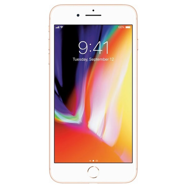 Apple iPhone 8 Plus 256GB Unlocked GSM/CDMA Phone w/ 12MP Camera