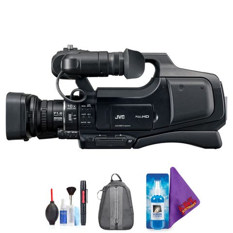 JVC GY-HM70U HD Camcorder + Pro Accessories Bundle
