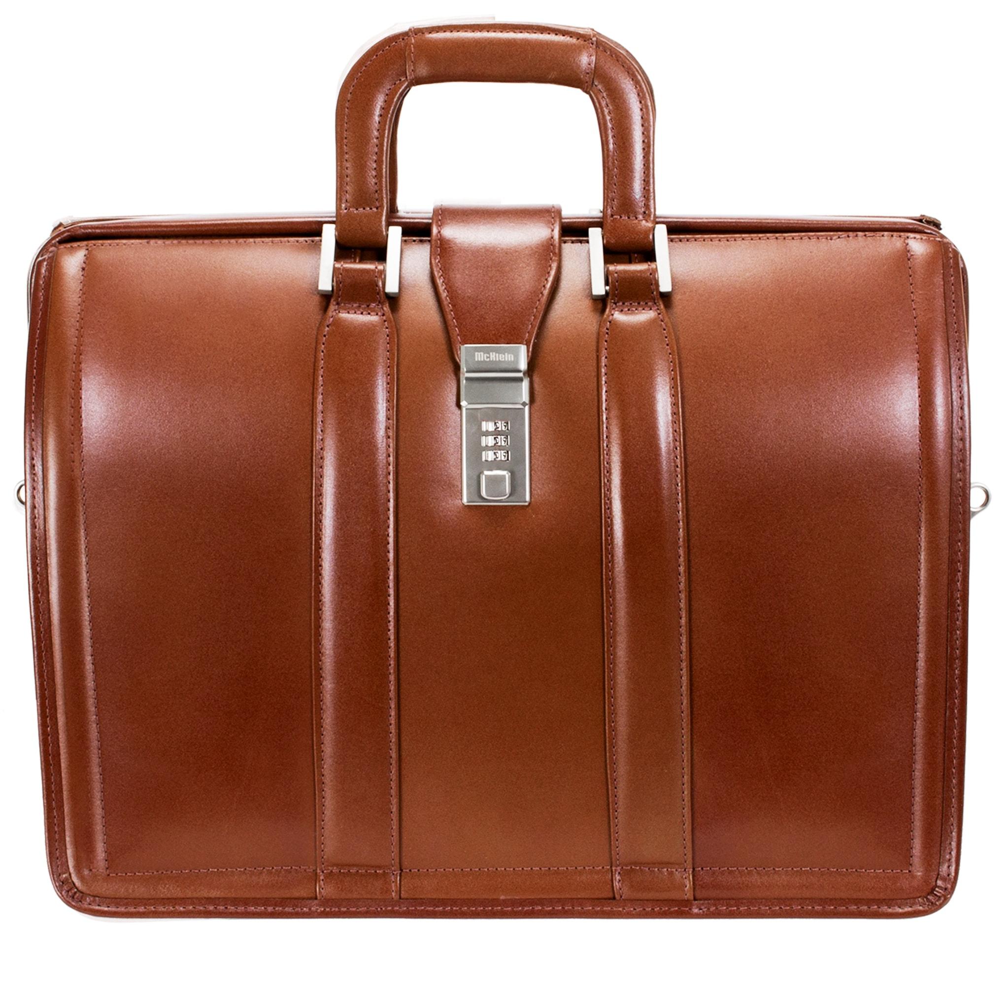 McKleinUSA Morgan 83344 Brown 17 Litigator Laptop Brief