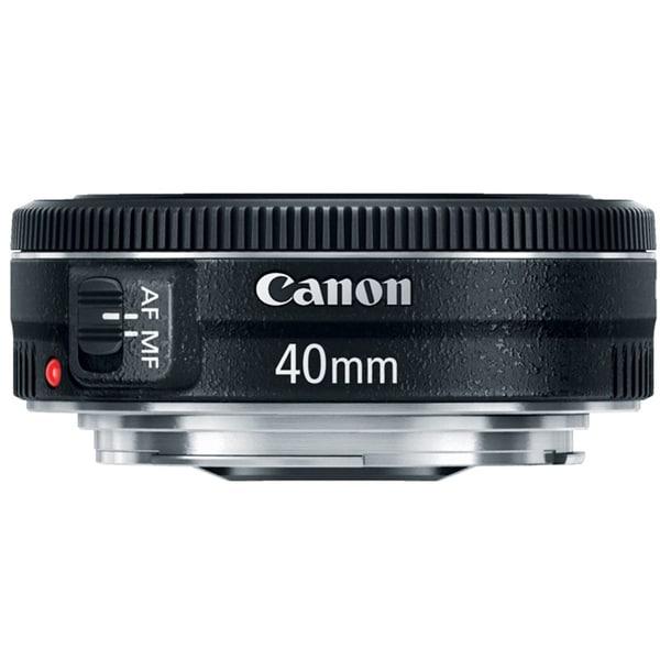 Canon 40mm Lens f/2.8 STM EF Compact Standard Lens - black