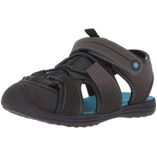 The Children's Place Kids' E BB Grizzly Flat Sandal - youth 6 medium us infant