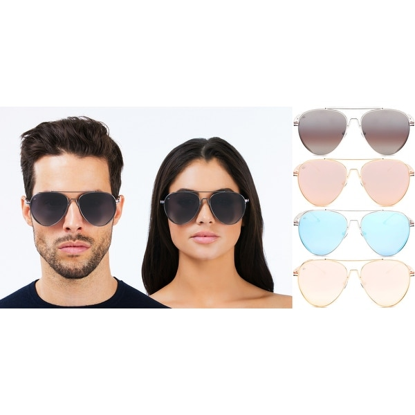 14ed2c133a PRIVÉ REVAUX ICON Collection The G.O.A.T Handcrafted Designer Polarized  Aviator Sunglasses For Men  amp  ...