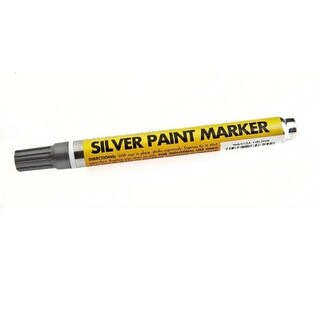 Forney 70824 Permanent Paint Marker, Silver