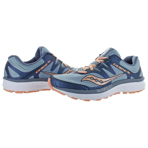 Saucony Womens Guide ISO 2 Running Shoes Trainers Sneakers Pink Sports