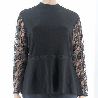 INC NEW Black Women's 1X Plus Mock Neck Lace Trim Long Sleeve Blouse|https://ak1.ostkcdn.com/images/products/is/images/direct/c57dfd2262fd623366a013d24ae256222b7ce8dc/INC-NEW-Black-Women%27s-1X-Plus-Mock-Neck-Lace-Trim-Long-Sleeve-Blouse.jpg?impolicy=medium