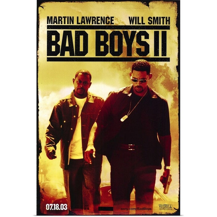 Shop Black Friday Deals On Bad Boys Ii 2003 Poster Print Overstock 24137813