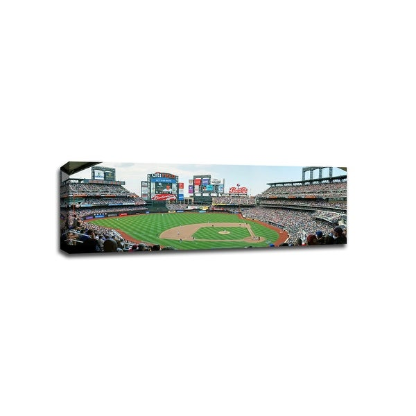 Citi Field - MLB - Baseball Field - 48x16 Gallery Wrapped Canvas Wall Art
