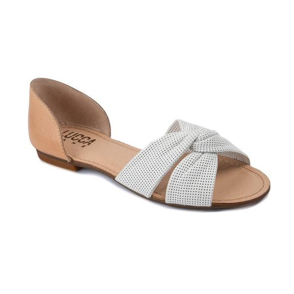 Lucca Lane Darsa Women's Sandals White
