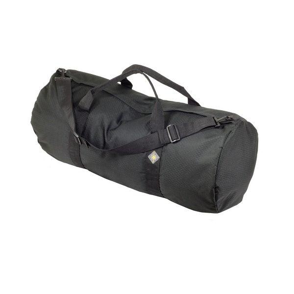 """North Star Sport Duffle Bag 14"""" Diam 30"""" L - Midnight Black SD1430DLXMB"""