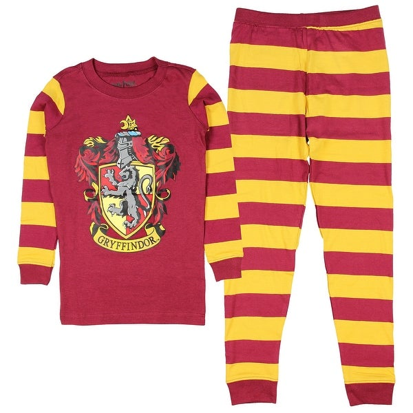 1bc0acffe Shop Harry Potter Pajamas Toddlers Kids Boys and Girls House Crest Striped-  Gryffindor, Ravenclaw, Hufflepuff, Slytherin - On Sale - Free Shipping On  Orders ...