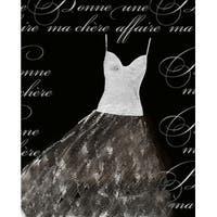 ''Robe de Soir'©e Blanche'' by Anon Mini-Prints Art Print (10 x 8 in.)