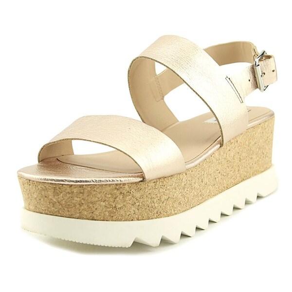 345372739fe Shop Steve Madden Krista Women Open Toe Leather Pink Platform Sandal ...