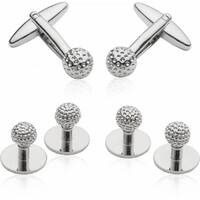 Golf Formal Set Cufflinks and Studs Golfing Golfer Sports Athlete
