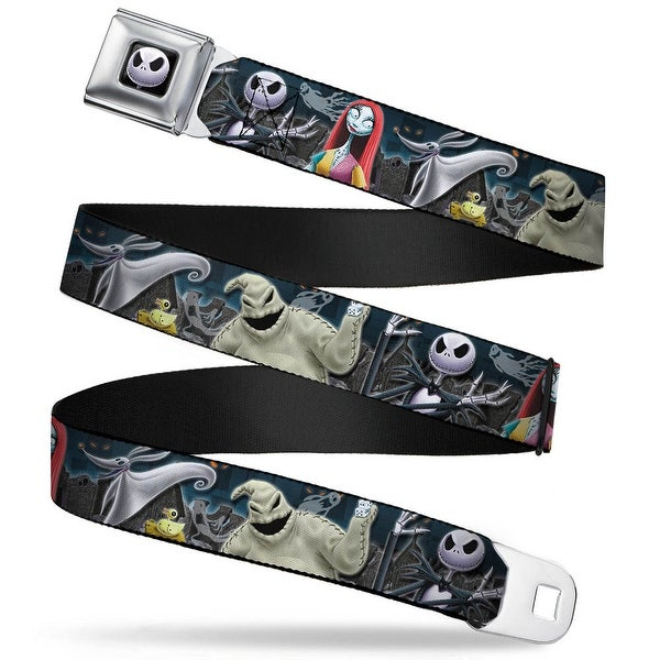 Jack Expression6 Fc Nightmare Before Christmas 4 Character Group Cemetery Seatbelt Belt - XS