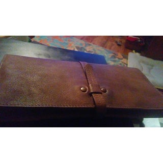 Diophy 8160 Distressed Vintage Genuine Leather Luxury Fashion Wallet