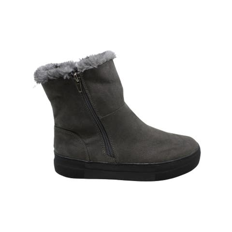Mia Womens Merion Suede Closed Toe Ankle Cold Weather Boots - 6