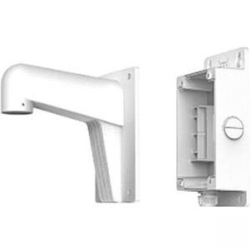 Hikvision Wms Aluminum Alloy Wall Mount With Junction Box, Short