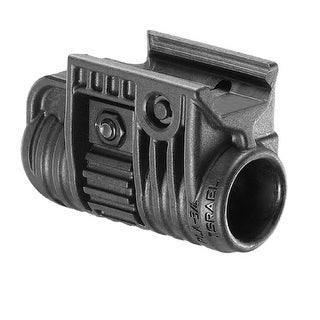 FAB Defense 3/4-Inch Tactical Light/Laser Adapter Black - PLA 3/4-B