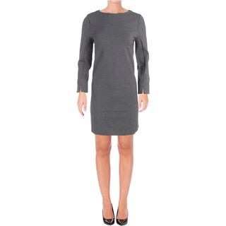 French Connection Womens Wear to Work Dress Melange Boatneck - 8