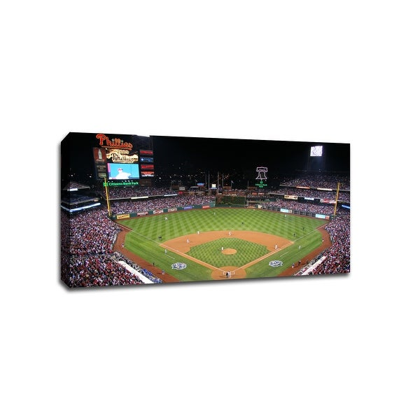 Philadelphia - Citizens Bank Park - MLB Baseball Panoramic - 36x20 Canvas