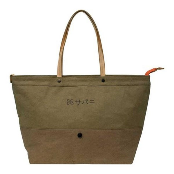 Shop Sherpani Women s Mai Tokyo Ethos Paper Fabric Tote Olive Brown - US  Women s One Size (Size None) - Free Shipping Today - Overstock.com -  25667252 af2fd6f407