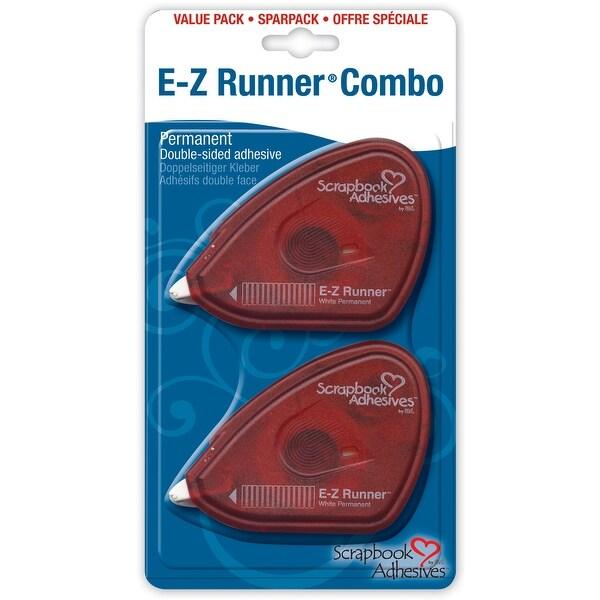 "Scrapbook Adhesives E-Z Runner Adhesive 2/Pkg-Permanent, .375""X56' Total"