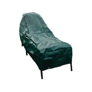 Budge P2A02ST1 Chaise Lounge Cover, Polyethylene, Hunter Green