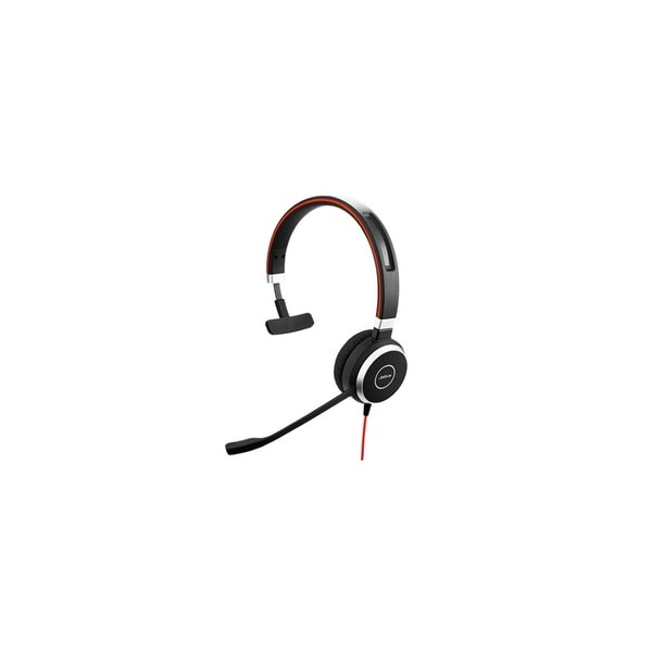 Jabra Evolve 40 UC Mono Corded Headset w/ Noise Canceling Microphone