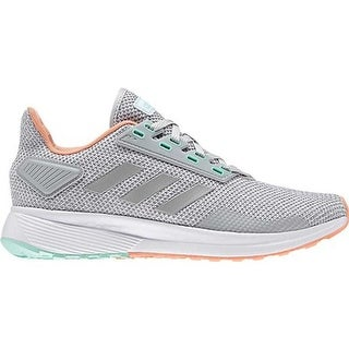adidas Women's Duramo 9 Running Shoe Grey Two/Grey Two/Chalk Coral