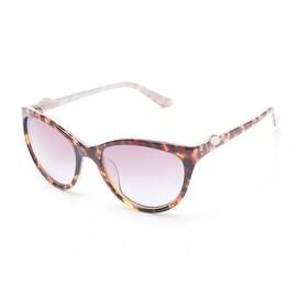 Moschino Women's Cat Eye Sunglasses Tortoise - Brown - Small