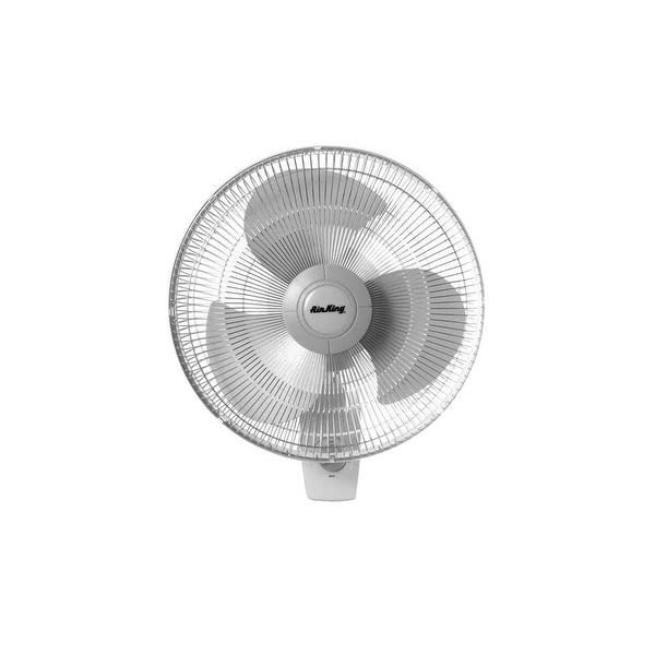 """Air King 9012 12"""" 930 CFM 3-Speed Commercial Grade Oscillating Wall Mount Fan - na"""