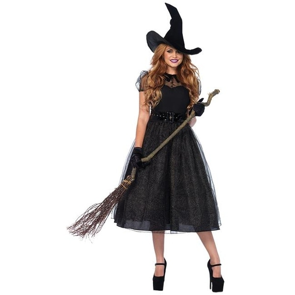 Morris Costumes Witch Darling Spell Caster Adult Costume, Large