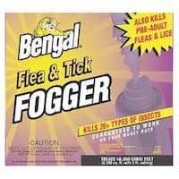 Bengal 55204 Flea & Tick Fogger Killer, 3 Oz Can