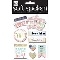 Soft Spoken Themed Embellishments-Married