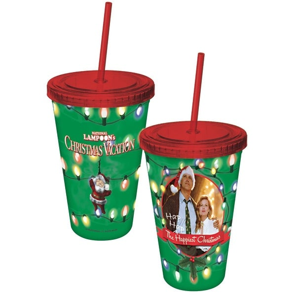 national lampoons christmas vacation happiest griswold christmas travel tumbler - Griswold Christmas