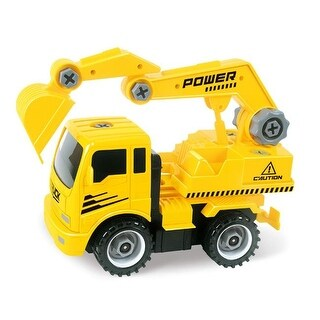 Take A-Part Construction Truck with 4 Different Forms, Dump