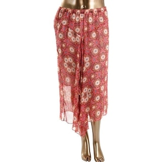 Vince Camuto Womens Maxi Skirt Mid-Calf Printed