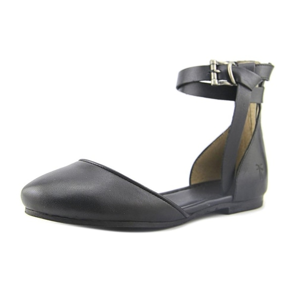 Frye Carson knotted Ballet Black Sandals