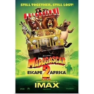 Shop Madagascar Escape 2 Africa 2008 Poster Print Overstock 24133482