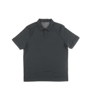 Perry Ellis Mens Core Knit Cotton Polo - L