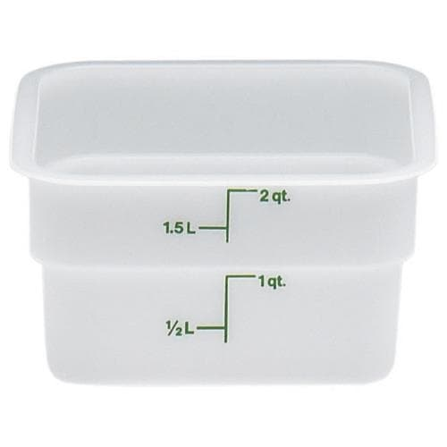 Cambro - 2SFSP148 - 2 qt CamSquare® Food Storage Container