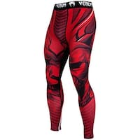 Venum Bloody Roar Durable Dry Tech MMA Compression Spats - Red