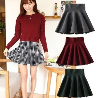 2015 Knitted Skirt Waist Slim
